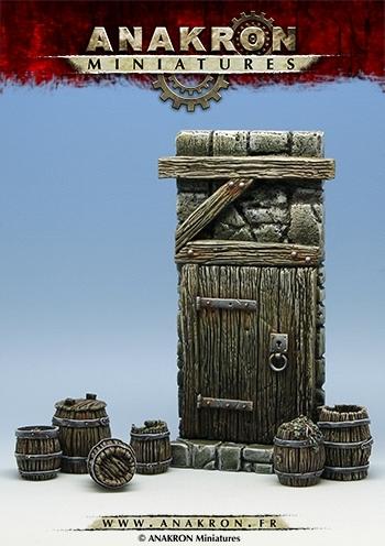 Door & Barrels Pack