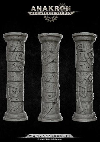 3D columns kit 1