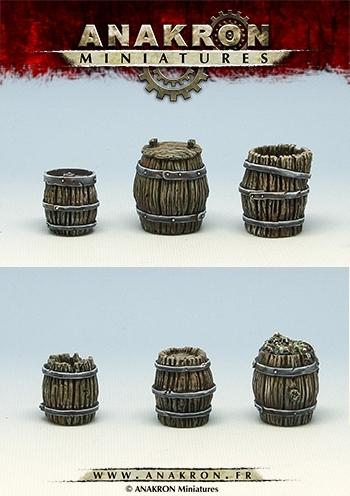 Barrels kit